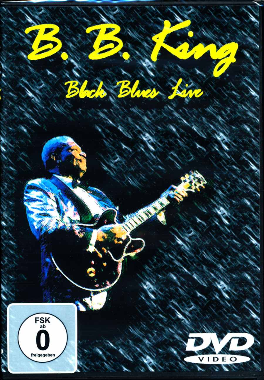 B.B. King - Black Blues Live - DVD /plast/