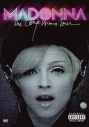 Madonna - The Confession Tour - DVD /plast/