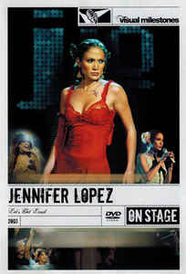 Jennifer Lopez - Let's Get Loud - DVD /plast/