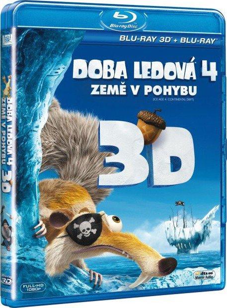 Doba ledová 4 - Země v pohybu - Blu-ray Disc
