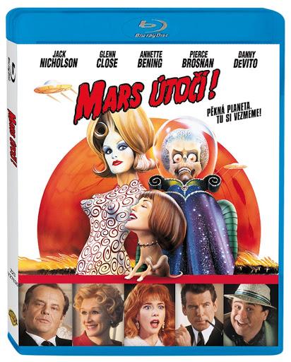 Mars útočí - Blu-ray Disc
