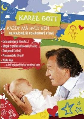 Karel Gott - Každý má svůj sen - CD /pošetka/