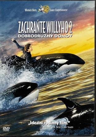 Zachraňte Williho 2: Dobrodružný domov ( originální znění, titulky CZ ) plast DVD