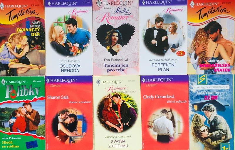 Velká knižní kolekce Harlequin 35. - 10x bazarová kniha