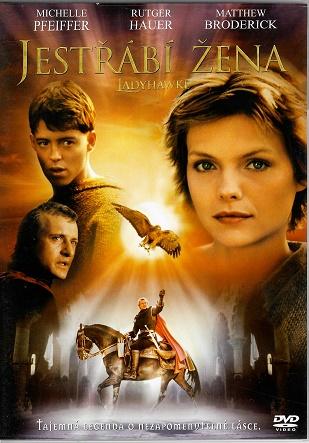 Jestřábí žena / Ladyhawke ( originální znění, titulky CZ ) plast DVD