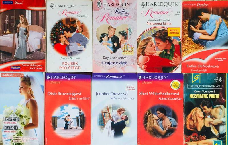 Velká knižní kolekce Harlequin 36. - 10x bazarová kniha