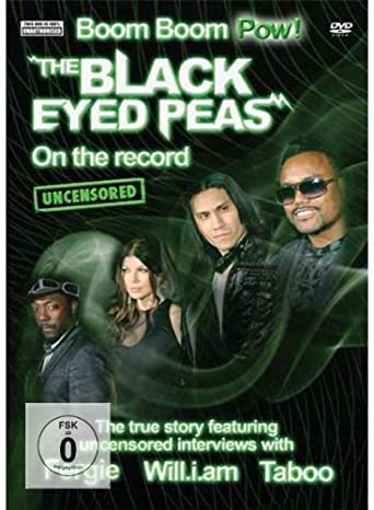 The Black Eyed Peas - On The Record - DVD /plast/
