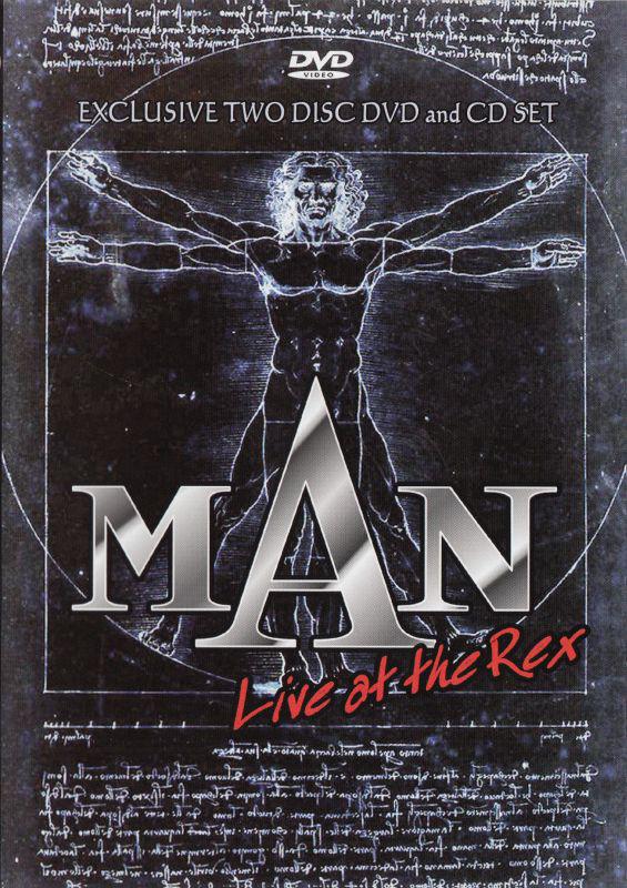 MAN - Live At The Rex - DVD+CD /plast/