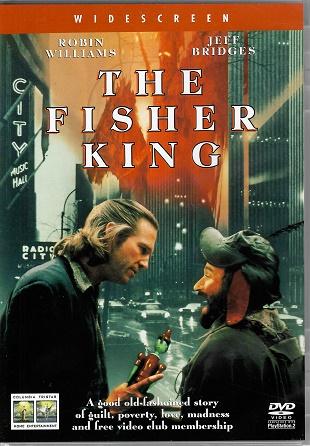 The Fisher King / Král rybář ( originální znění, titulky CZ ) plast DVD
