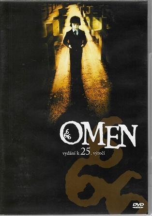Omen / Přichází Satan! ( originální znění, titulky CZ ) plast DVD - bazarové zboží