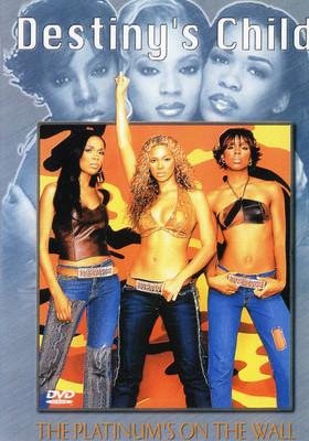 Destiny's Child - The Platinum's On The Wall - DVD /plast/