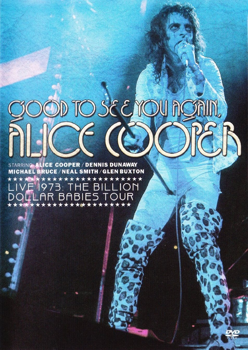 Alice Cooper - Good To See You Again - DVD /plast/