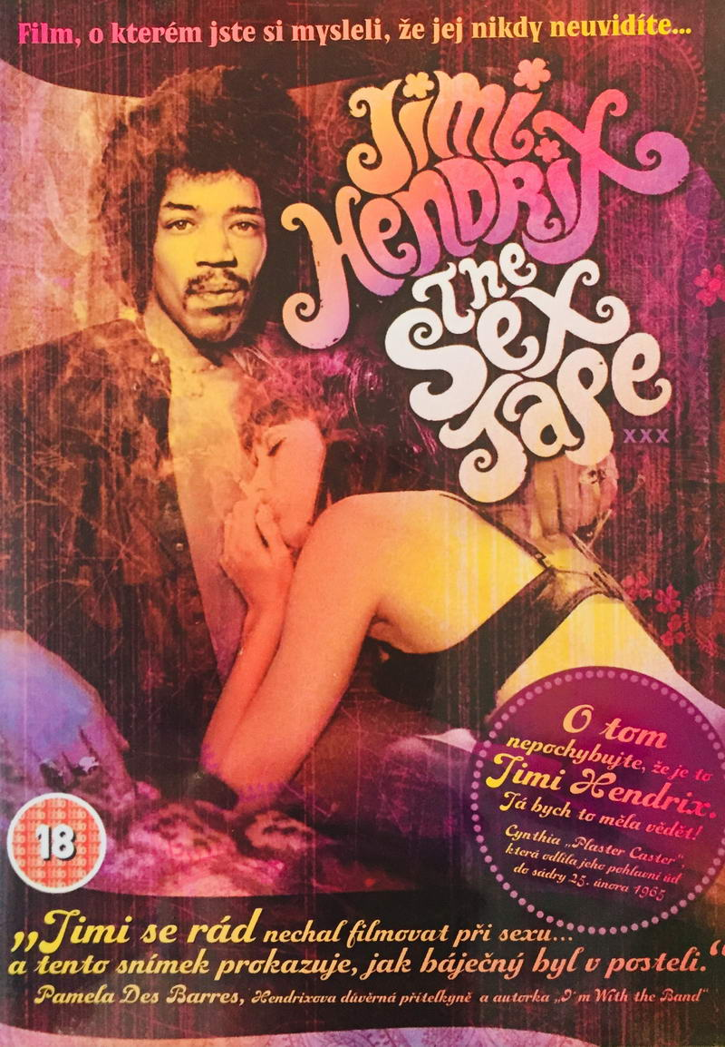 Jimi Hendrix - The Sex Tape - DVD /plast/