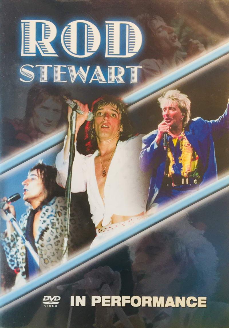 Rod Stewart - In Performance - DVD /plast/