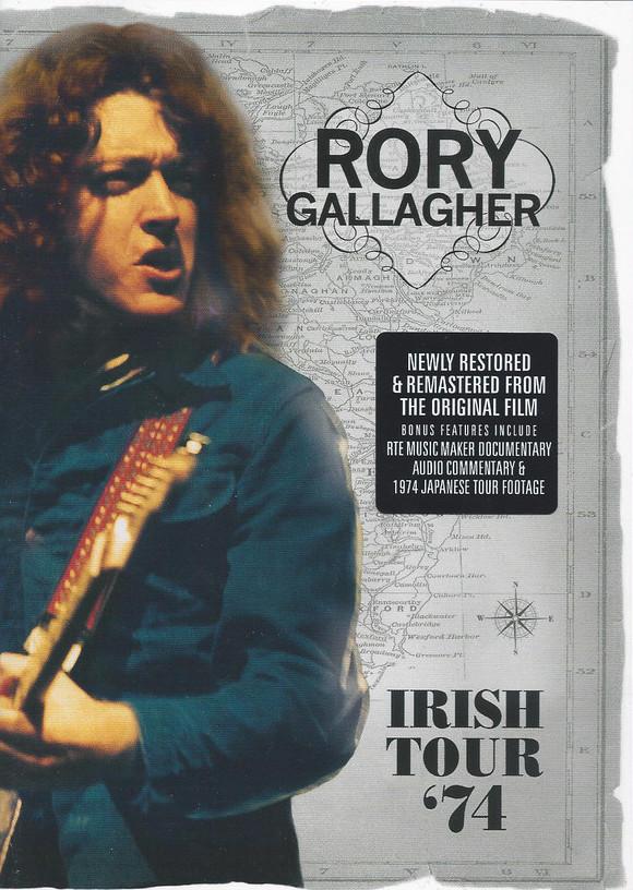 Rory Gallagher - Irish Tour '74 - DVD /plast/
