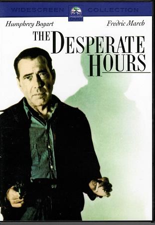 The Desperate Hours / Hodiny zoufalství (1955) ( originální znění, titulky CZ ) plast DVD