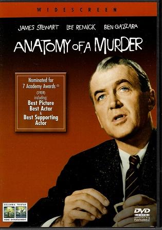 Anatomy of a Murder / Anatomie vraždy ( originální znění, titulky CZ ) plast DVD