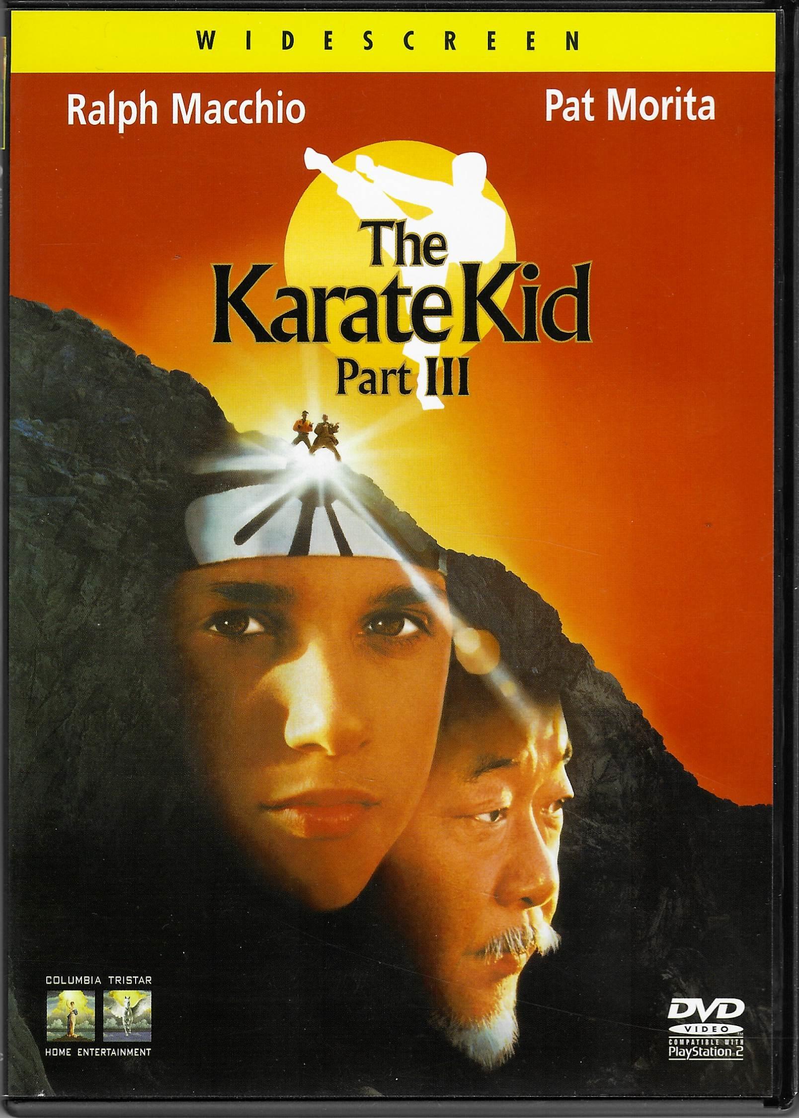The Karate Kid -part III - DVD plast