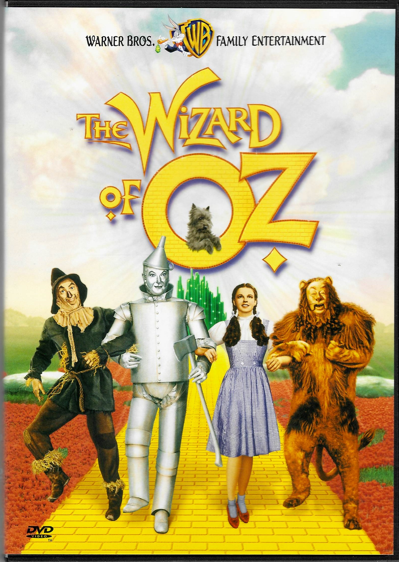 The Wizard of OZ ( Čaroděj ze země Oz)  - DVD plast