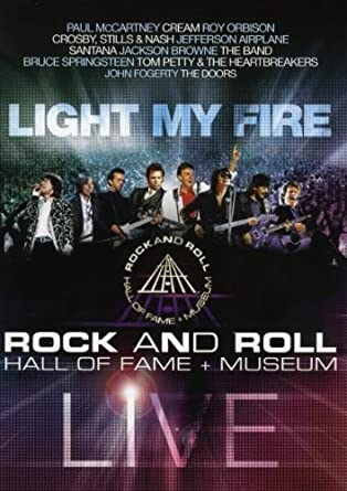 Light My Fire - Rock and Roll Hall of Fame  + Museum - DVD /slim/