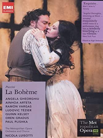 La Bohéme - The Metropolitan Opera - DVD /plast/