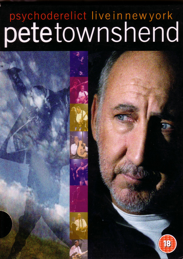 Pete Townshend - Psychoderelict Live in New York - DVD /digipack/