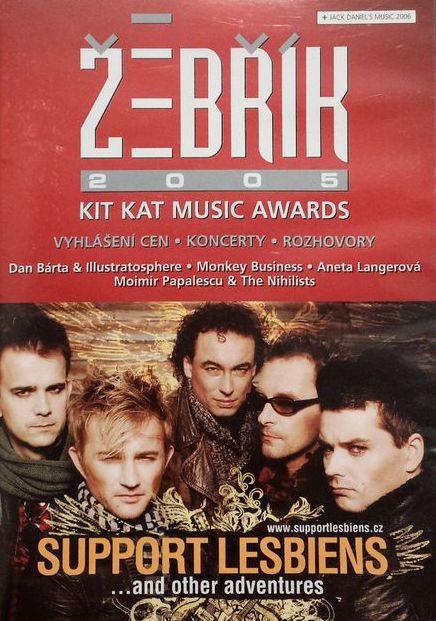 Žebřík 2005 - Kit Kat Music Awards - DVD /plast/