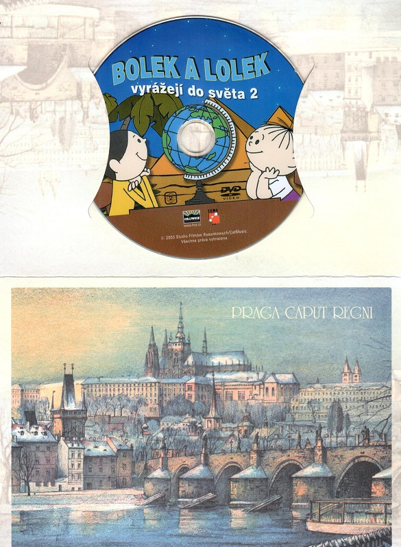 Bolek a Lolek - vyrážejí do světa 2 (dárkový obal) DVD