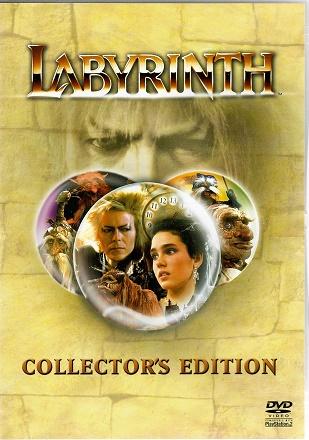 Labyrinth / Labyrint ( originální znění, titulky CZ ) plast DVD