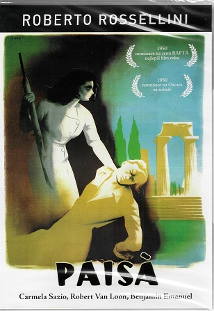 Paisa / Paisa - Roberto Rossellini ( originální znění, titulky CZ ) plast DVD
