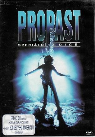 Propast / The Abyss - James Cameron  2 DVD ( originální znění, titulky CZ ) plast DVD