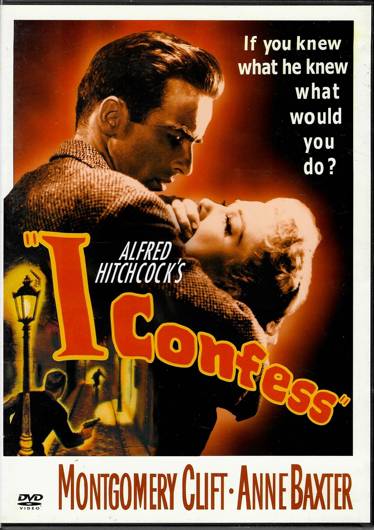I confess ( Zpovídám se ) - DVD plast