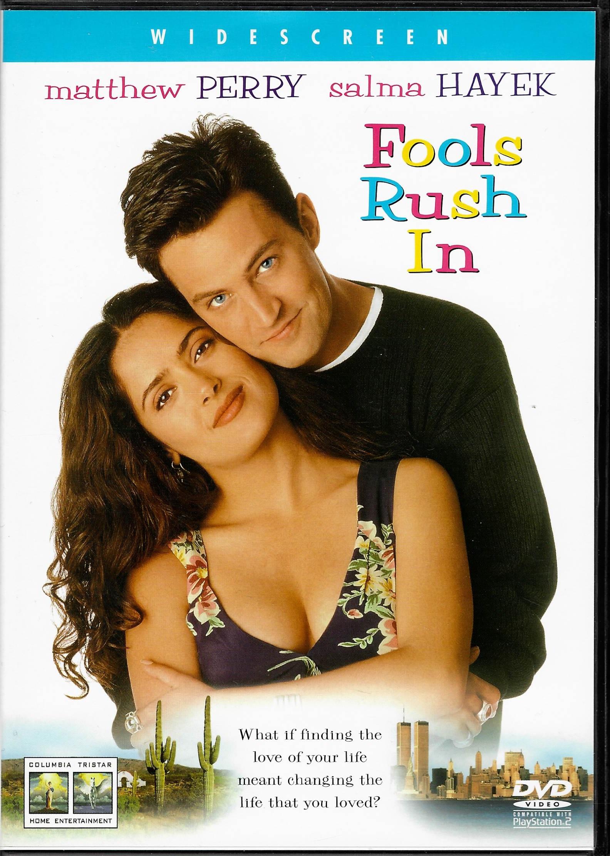 Fools Rush In  ( Jen blázni spěchají ) - DVD plast