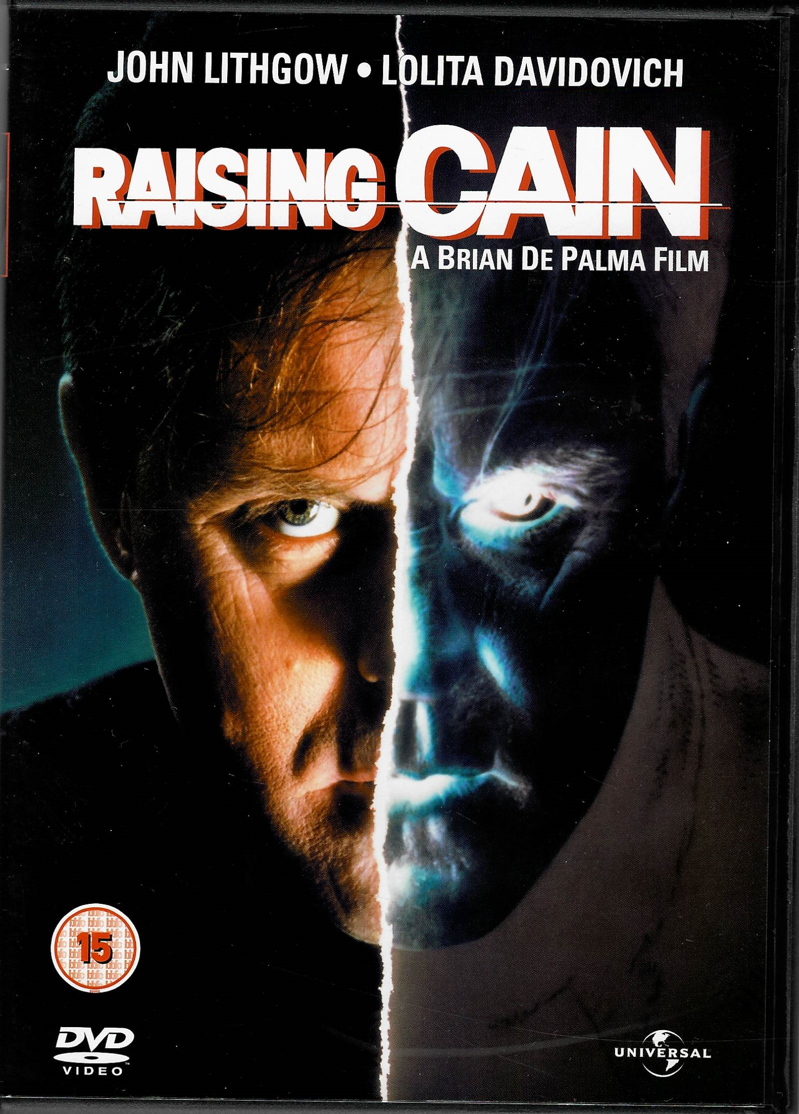 Raising Cain (Kainova výchova) - DVD plast