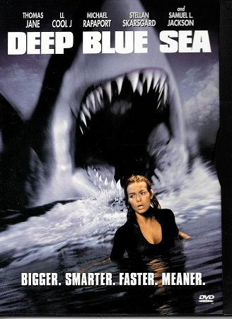 Deep Blue Sea / Útok z hlubin ( originální znění, titulky CZ ) digipack DVD