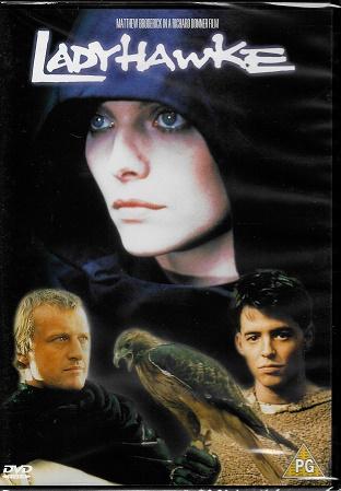 Ladyhawke / Jestřábí žena ( originální znění, titulky CZ ) plast DVD