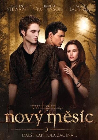 Twilight sága - Nový měsíc - DVD /digipack/bazarové zboží/