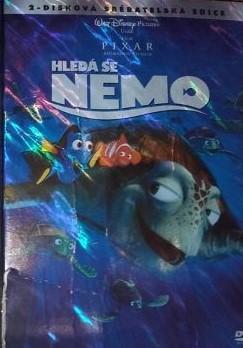 Hledá se Nemo - 2-disková sběratelská edice - 2xDVD /plast v šubru/bazarové zboží/