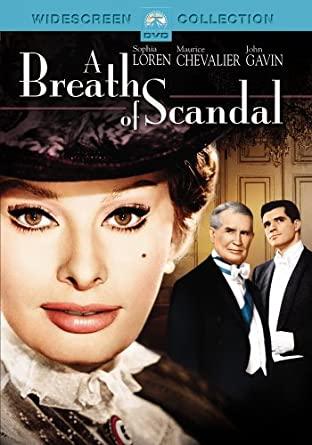 A Breath od Scandal / Přídech skandálu - v originálním znění s CZ titulky - DVD /plast/