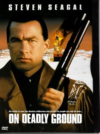 On Deadly Ground / Aljaška v plameňoch ( originální znění, titulky CZ ) digipack DVD