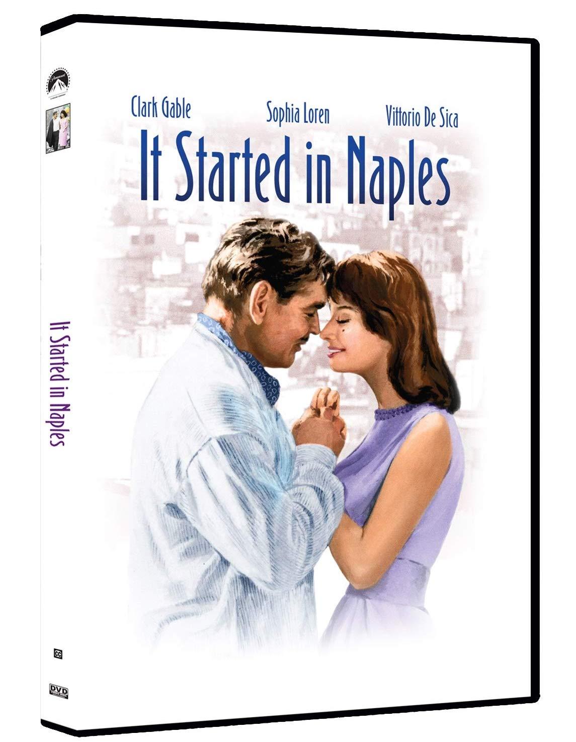 It Started in Naples / Začalo to v Neapoli - v originálním znění s CZ titulky - DVD /plast/