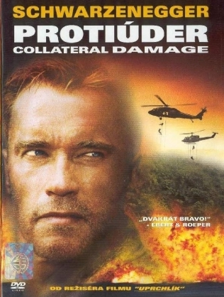 Protiúder - Collateral Damage - DVD /plast/