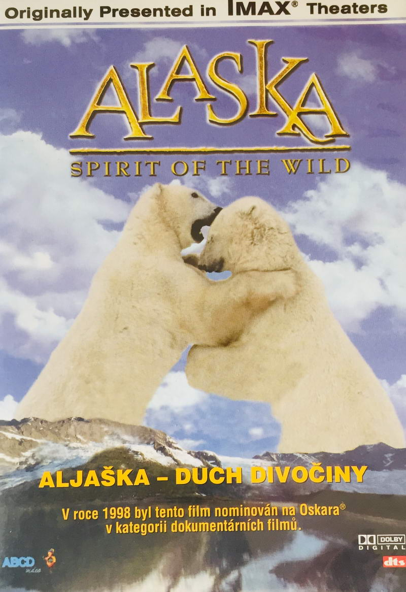 Alaska - Spirit of the World / Aljaška - Duch divočiny - DVD /slim/