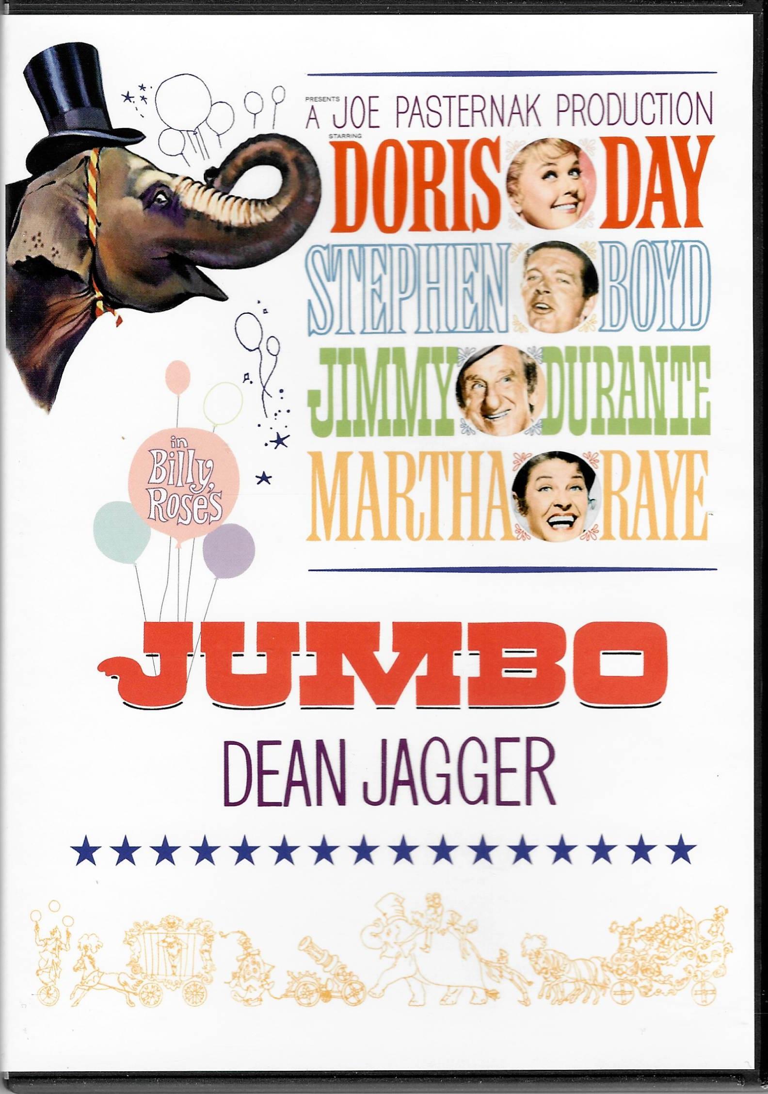 Billy Rose's Jumbo ( Jumbo Billyho Rose) - DVD plast