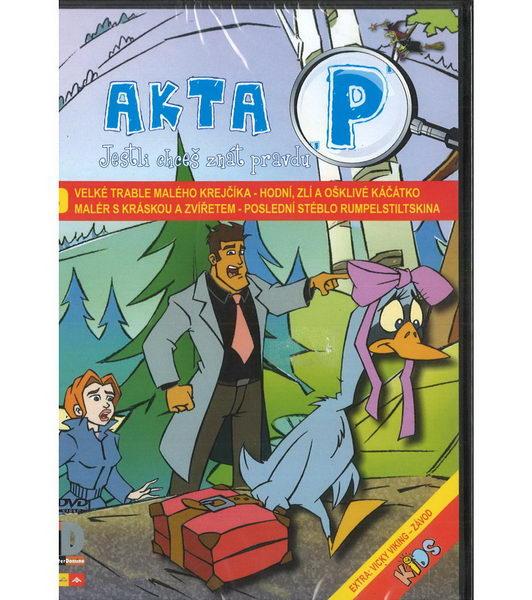 Akta P 3 - ( plast ) DVD