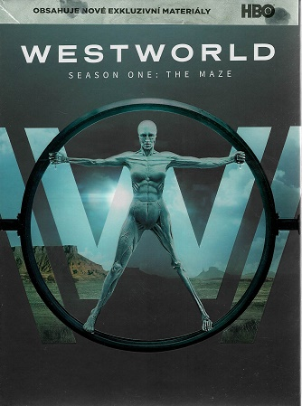 Westworld: Season one: The maze / Labyrint (série) - 3 DVD - Bazarové zboží