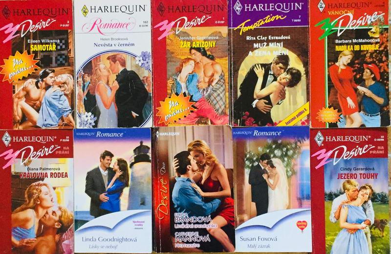 Velká knižní kolekce Harlequin 170. - 10x bazarová kniha