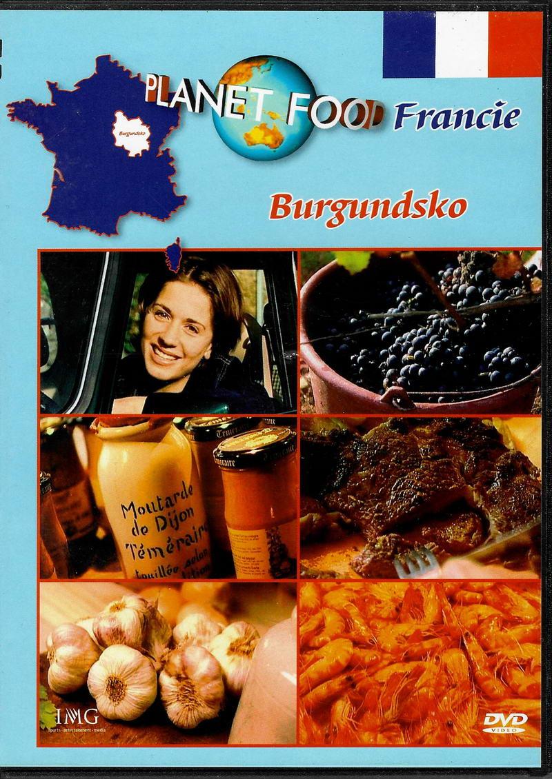 Planet Food  Francie -  Burgundsko - DVD slim