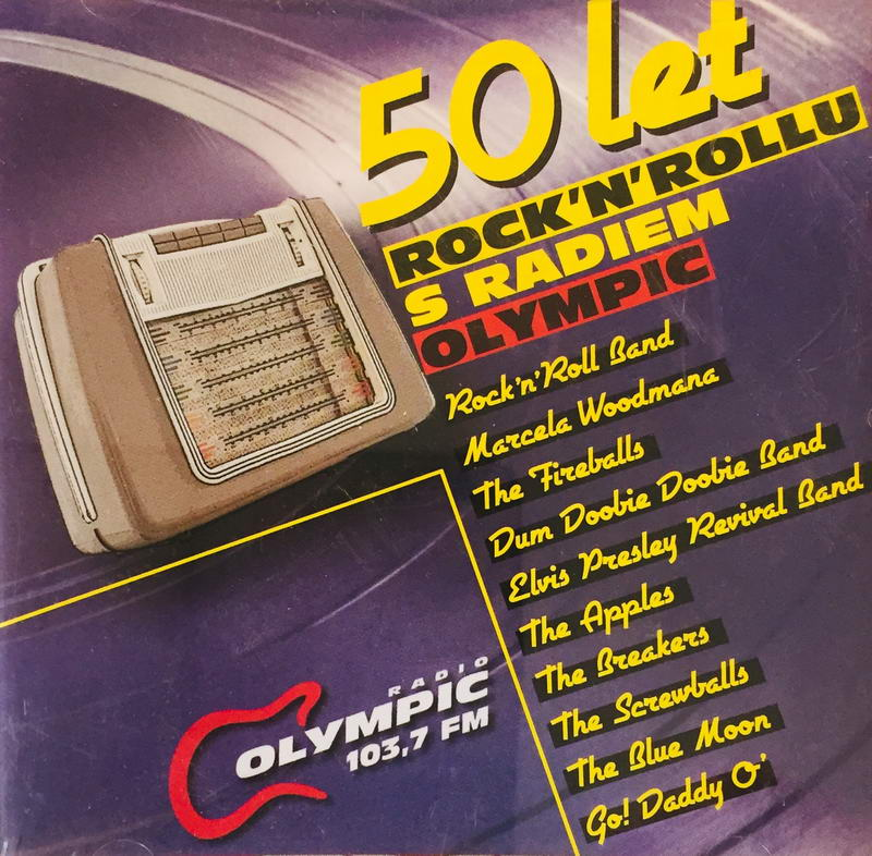 50 let Rock'n'rollu s radiem Olympic - CD /plast/
