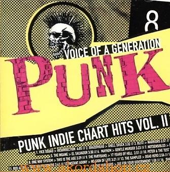 Punk - Voice of Generation - Vol. II - CD /plast/
